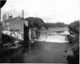 VIEW-6094 | Mill and dam, Etchemin River, near Levis, QC, 1917(?) | Photograph | Wm. Notman & Son |  |