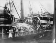 VIEW-6414 | Troops arriving on S. S. Orduna, Halifax, NS, 1918 | Photograph | Wm. Notman & Son |  |