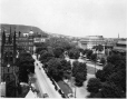 VIEW-6436 | Dominion Square from Windsor Station, Montreal, QC, 1922 | Photograph | Wm. Notman & Son |  |