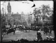 VIEW-6737 | Visite royale : le cortège royal arrivant du Parlement, Ottawa, Ont., 1901 | Photographie | William McFarlane Notman |  |