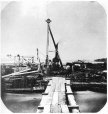 N-0000.193.150.2 | Dessus du batardeau no 8, pont Victoria, Montréal, QC, 1858 | Photographie | William Notman (1826-1891) |  |