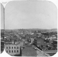 N-0000.193.253.2 | From St. Lawrence Hall looking up Nelson Street, Toronto, ON, about 1860 | Photograph | William Notman (1826-1891) |  |