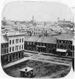 N-0000.193.262.1 | Vue de Kingston en direction ouest depuis la coupole de l'hôtel de ville, Ont., vers 1860 | Photographie | William Notman (1826-1891) |  |