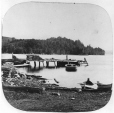 N-0000.193.43.2 | Steamboat wharf, Georgeville, Lake Memphremagog, QC, about 1860 | Photograph | William Notman (1826-1891) |  |