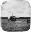 N-0000.193.42.2 | Le vapeur « Mountain Maid » quittant Georgeville, QC, vers 1860 | Photographie | William Notman (1826-1891) |  |
