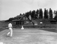 VIEW-8058 | Golf & Tennis Club House, Murray Bay, QC, 1915 (?) | Photograph | Wm. Notman & Son |  |