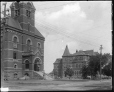 VIEW-8169 | Opera House and Normal School, Fredericton, NB, 1915 (?) | Photograph | Wm. Notman & Son |  |